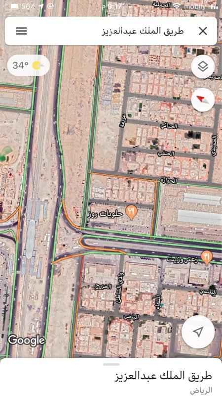 1757178 صالة ميزانين في مجمع والمجمع مؤجر بالكامل على طريق الملك عبدالعزيز في موقع مميز