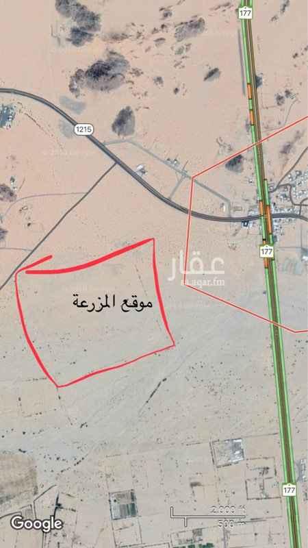 1384075 مزرعة للبيع في الحصينية على طريق حبونا غرب نقطة التفتيش  يوجد فيها ماء  يوجد استراحة  وغرف للعمال  موقع العقار ممياز وقريب من المطار