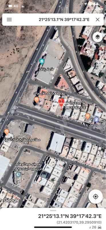 1342516 للبيع قطعه تجاريه حي الاجاويد مساحة 660م السعر مليون و800 الف من المالك