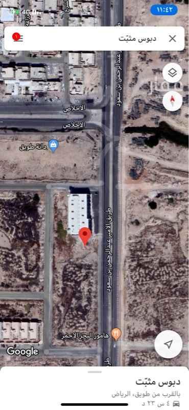 1464518 ارض تجارية رقم ٢٣٠٧ مخطط ٢٥٠٩ مساحة ٩٠٠  ٣٠ على الشارع ٣٠ عمق تفتح شرق