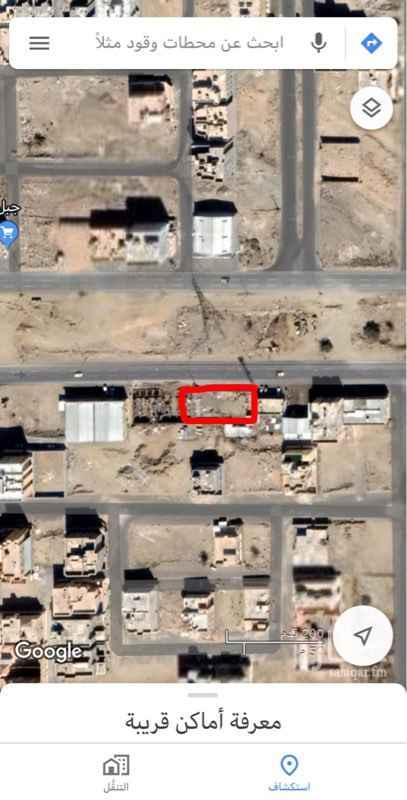 1542953 الموقع للإيجار حوش على شارع تجاري 80 ومن الخلف شارع 15 مساحة الموقع/1000 متر مربع يوجد عداد كهرباء للتفاهم التواصل اتصال او واتس