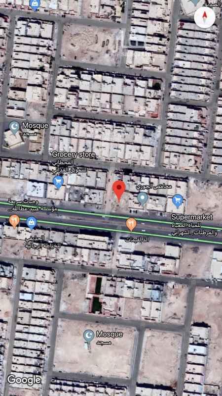 1566296 ارض تجاريه زاويه حي نمار شارع احمد بن الخطاب مساحة ٩٠٠ م  للبيع او الايجار  السعر قابل للتفاوض  0554489522