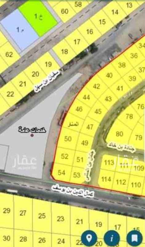 1813063 حي المنار مخطط ٢٥٨/١  رقم القطعة :٤٢
