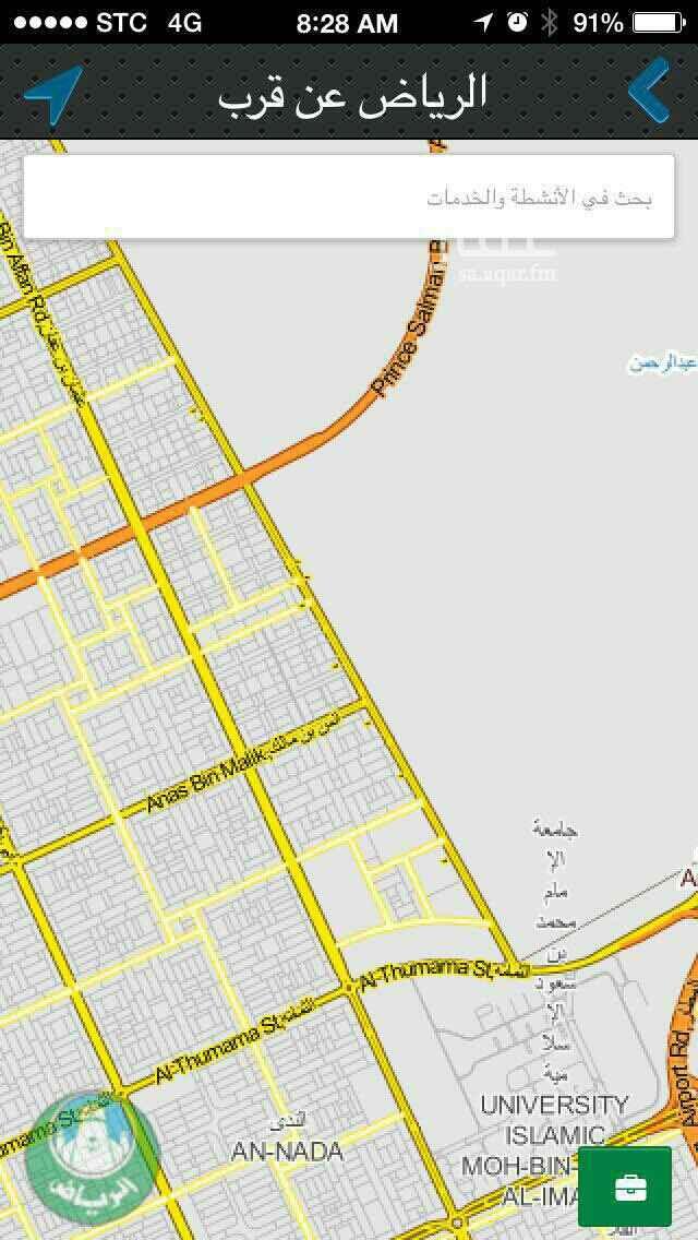 1599690 المساحه ١٦١١ متر مربع  ٦٠ شرقي 36شمالي  على ثلاث شوارع  ١٥ غربي  حد ٤٥٠٠ للمتر   الموقع دقيق   مباشر من المالك.