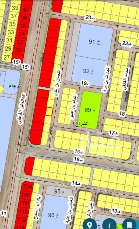 1291647 للبيع في مخطط ٩٢ حي الشراع بعزيزية الخبر  للبيع ارض مساحه ٥٠٠ متر  حرف ب شارع ٢٠ شرق  السعر ٣٧٥ الف  مباشر للتواصل 0546144608