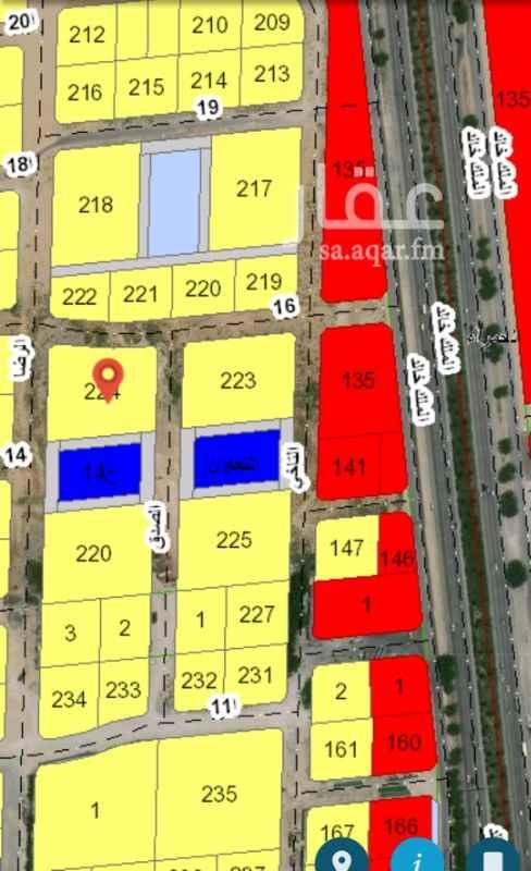 1291897 جنوب غرب الانابيب رقم ٢٢٤ المساحة ٦١٦١م٢ اربع شوارع   سوم ٤٠٠ ريال للمتر  مباشر لدى من المالك  للتواصل  0546144608