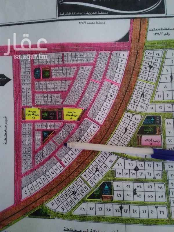 1244370 للبيع في دره القمر مخطط مطور كامل الخدمات  رقم 183 مساحه 776 متر شارع 20 شرق و 8 جنوب   مباشر  للتواصل  0546144703