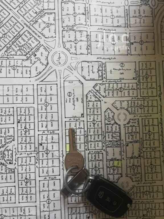 1726018 للبيع رأس بلك في حي حطين النموذجي  مساحه ٢١٢٧ م الاطوال 30x70.9  الشواع ٢٨م شارع ١٥م شارع ١٥م سوم ٢٨٠٠ البيع فرق السوم  مباشر مع الوكيل