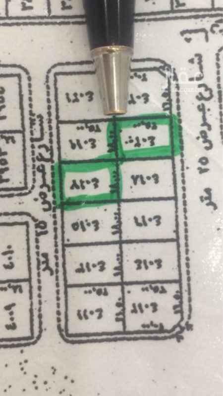 1692958 ارض سكنية في مخطط٦ب ، باطوال١٨ف٢٥م حد ٤٥٠ الف ريال