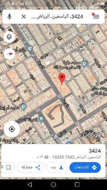 1630009 3424 الياسمين، الرياض 133257542 https://maps.app.goo.gl/XEfaZ للبيع بلك تجاري في حي   الياسمين مربع ٥   مساحه ١٦٨٤٠متر   الاطوال ٢٥١×٦٧عمق  شارع ٣٦جنوبي ١٥شمال   ١٢شرقي ١٥غربي  البيع ٢٥٠٠ الموقع غير دقيق للاستفسار يرجى الاتصال