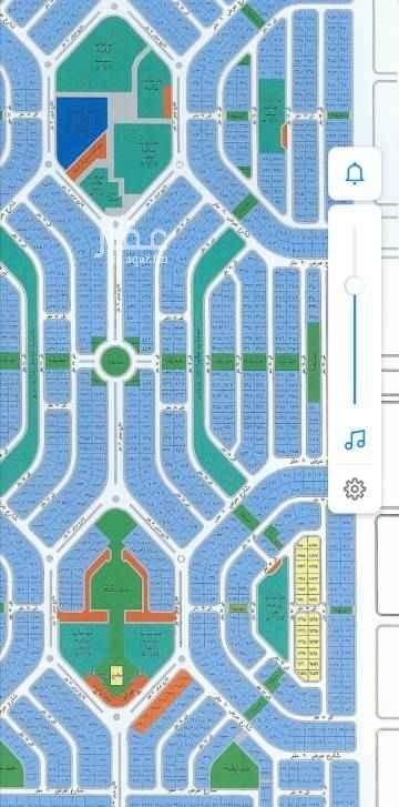1739687 للبيع ارض في مخطط هشام حي الياقوت مساحة ٦٠٠ متر شارع ١٥ غربي قريب من شارع الأربعين مربعة ٢٥ في ٢٤ مطلوب ٧٢٠ الف