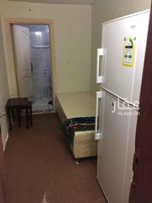 1781932 غرفة الايجار شامل المياة الكهربا ثلاجة  مكيف سرير حمام داخلى  رقم تواصل 0567468466