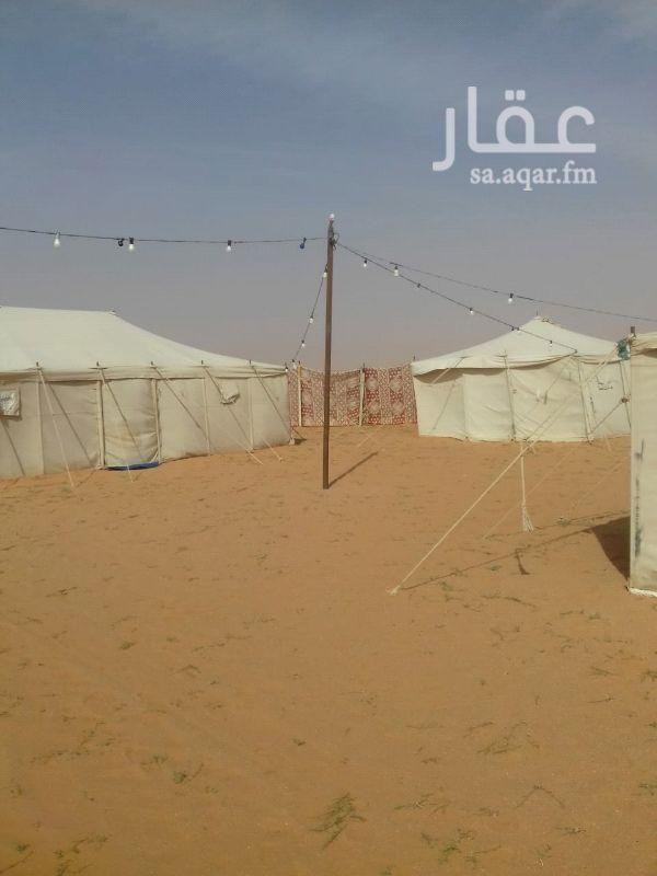 1350509 مخيم قسمين للايجارقريب من  روضه التنهات بيت شعر و٣ خيام ودوره مياه وعقود كهرباء