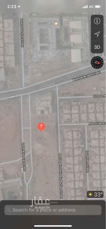 1206642 ارض سكنية للايجار حي اشبيليا موقع مميز شمالاً: شارع عرض ٢٠ جنوباً: شارع عرض ٣٦ شرقاً: قطعة رقم ٤٨٣ غرباً: قطعة رقم ٤٨١