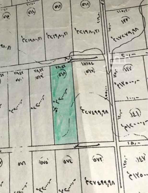 1366721 أرض بصك زراعي شارع ٢٠ شمالي شارع ١٥ جنوبي  ميزتها محاطة بالجبال من ثلاث جهات ..