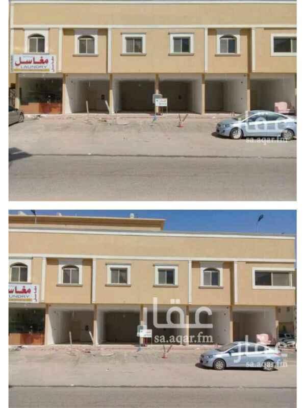 1304094 الايجار محلات تجاريه شمال الرياض حي النرجس جنوب طريق الملك سلمان شرق طريق عثمان بن عفان على شارع ٣٠  موقع مميز وسعر طيب  يوجد 5محلات كل محل ٣٤متر  للتواصل شركة الإيوان العقاريه  0554343734 0550380813