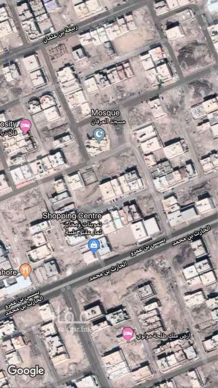 1412097 ارض في حي الرانوناء موقع فلل قريب جدا من الشارع الرئيسي داخل الحد يوجد لها مخططات فلة بدروم وشقتين