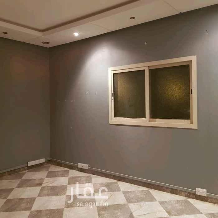 1302044 شقة الدور الثاني في فيلا تتكون غرفتين وصالة ومطبخ ودورتين مياه حي العارض شمال الرياض