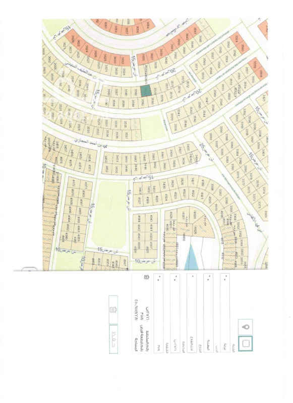 1692362 قطعة رقم ٣٥٨١ أرض سكنية مستوية بمساحة 451 للبيع