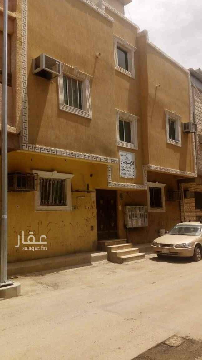 1504895 عمارة مجددة بالكامل في حي منفوحة الجديدة   عبارة عن ثلاثة أدوار   كل دور شقتين متقابلة   كل شقة عبارة عن غرفتين وحمام ومطبخ    الأجار للعمارة بالكامل    .