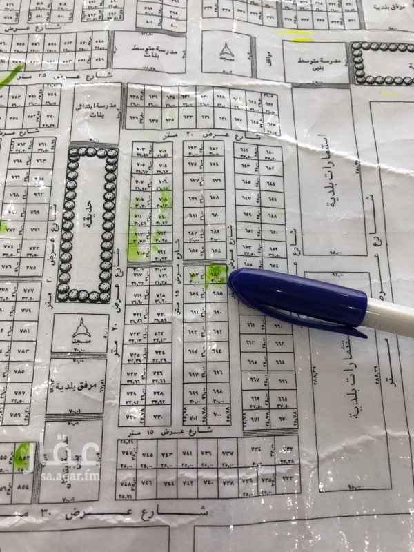 1711251 قطعة في مخطط ب  الخير    المساحة: 780 الشوارع: 15 وممر ٨  الواجهة: شرقي /ممر شمالي  البيع: 360 ألف