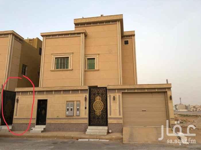 1699971 دور علوي يتكون من 5 غرف  و اربع حمامات ومطبخ  المدخل مشترك  طريقه الدفع شهري 3000 الاف والعقد سنوي