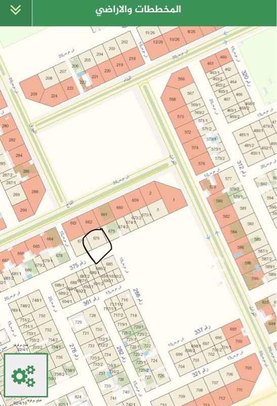 1820008 ارض للبيع مساحة ٣١٢.٥ شارع ٢٠ جنوبي  اطوالها ١٢.٥ في ٢٥