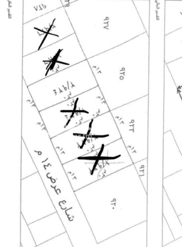 1412332 للبيع قطعه ارض سكنيه  حى الياسمين مربع ١٦  من افضل مربعات الياسمين  المساحه ٣٩٠م الأطوال ١٣❌٣٠ شارع ١٥م جنوبى  البيع ٢٣٠٠ على شور