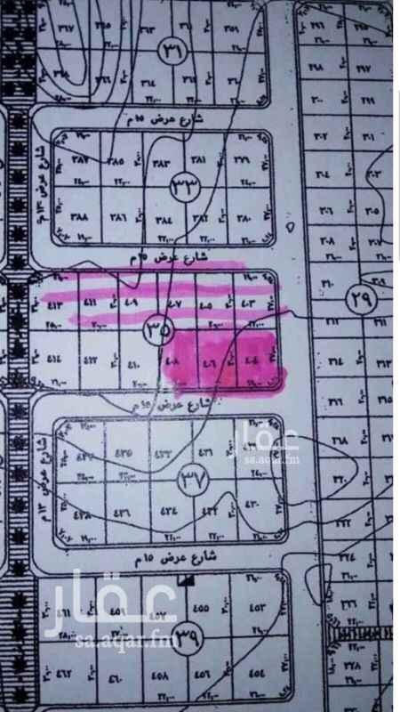 1580171 للبيع أرضى سكنيه  حى القمر 3  المساحه 1892م  شماليه شارع 15م  السعر 1750 شامل الضريبة