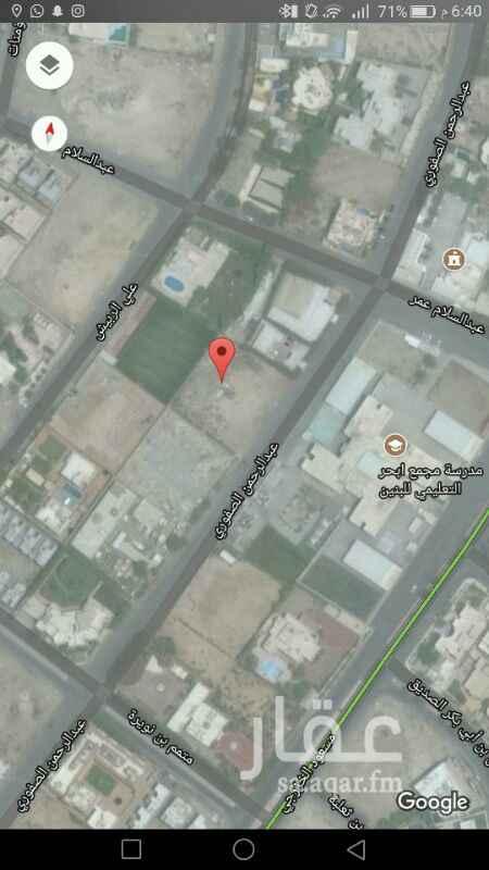 717695 أرض سكنية للبيع في حي أبحر الجنوبية بمساحة 2800م واجهة جنوبية المطلوب 3000 ريال للمتر.