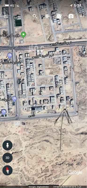 1567589 ارض تجارية سكنية 900متر جنوبي 40 م شرقي  20م شارع الذهبي على السوم