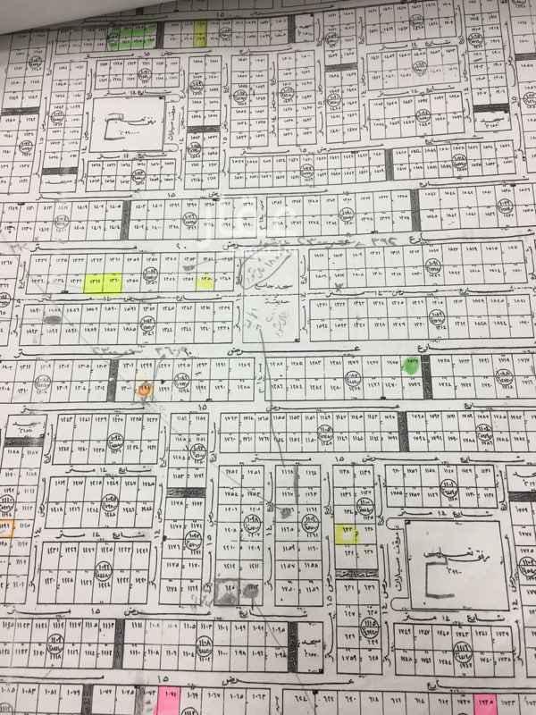 1753724 ارض للبيع بحى الياسمين  مساحته ٧٢٨م  الاطوال ٢٦*٢٨ عمق  شارع ١٤شمالى  البيع ٢٥٠٠+ الضربيه