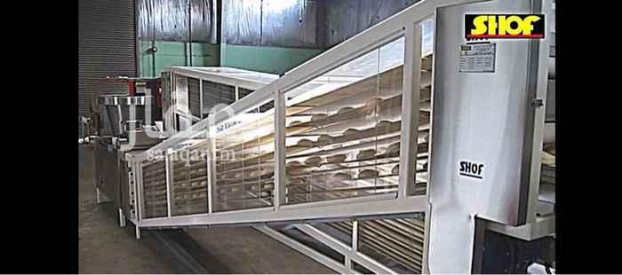 1114292 مخبز آلي خطين متكامل للبيع في بيش طريق المدينة الاقتصادية. للتواصل 0557774319