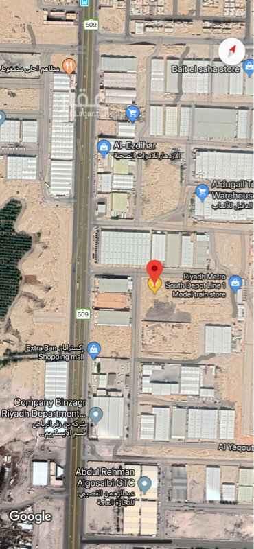 1616769 منطقة مستودعات  على ٣ شوارع شمالا٣٠ متر جنوب ٣٠ متر غربا٣٠ متر للبيع او الاستثمار المتر ١٢٠٠ ريال للبيع التواصل واتس اب