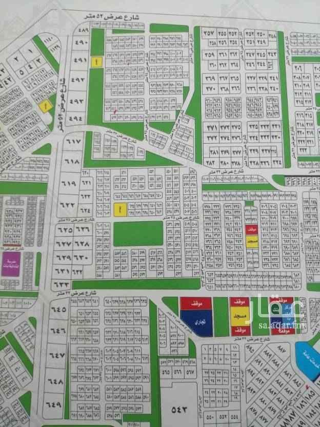 1519258 للبيع نصف أرض  في مخطط ٩٩ ج س  الجزء  أ   حي الفنار   َ مساحة الأرض ٤٥٠ م   شارع 16 جنوبي   الأضلاع ١٥ في ٣٠   مطلوب ٣٤٠ الف   من المالك مباشرة