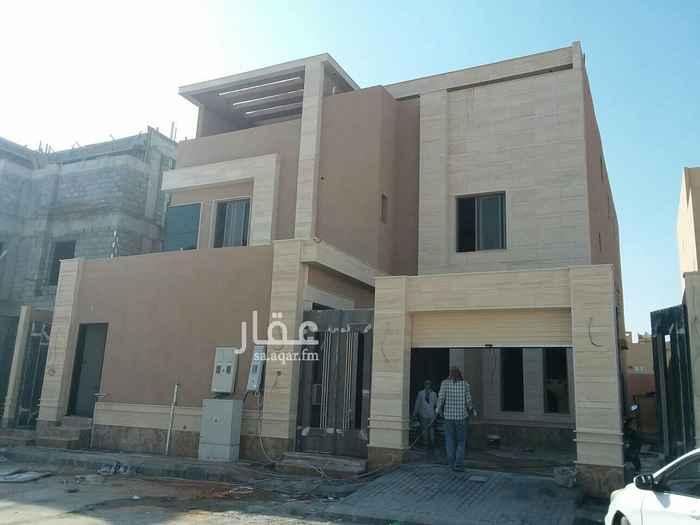 1704906 فله درج داخلي وشقتين  بناء شخصي حي العارض شرق طريق الملك عبد العزيز