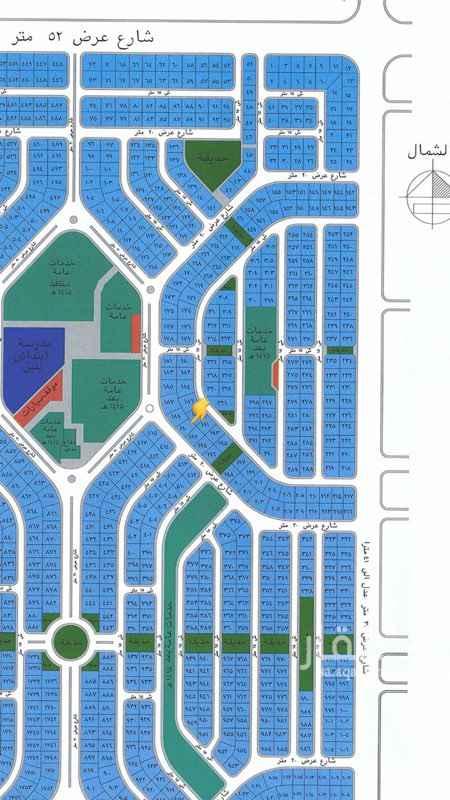 1745318 للبيع ارض في مخطط هشام  رقم الارض ١٩٠ مساحه٦٩٠ شارع ٢٠ مطلوب ٧٥٠.٠٠٠ للتواصل  ٠٥٥٢٣١٨٣٢١