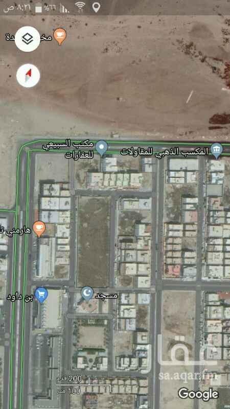 1313834 للبيع ارض سكنية في حي الفلاح على شارع 25 شرقي خلف أسواق بن داوود