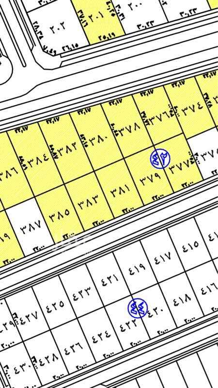 1747963 حي الرحاب  مساحة القطعة ٦٦٠م  (عرضها على الشارع ٢٢ في العمق ٣٠) شارع ٢٠م جنوبي. نازلة عن مستوى الشارع.  سعر المتر ٢٣٥٠ ريال المشتري لا يدفع الضريبة   0552699571