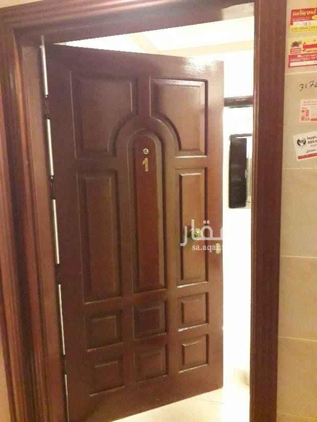 1630036 شقة ٤غرف صالة  مطبخ راكب  دور اول ٢حمام مدخلين