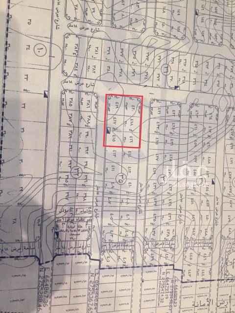 1684729 راس بلك سكني بالقمرا ٣  مكون من ٦ قطع الاطوال مواضح في المخطط إجمالي المساحة ٣٥١٧ م  شوارع ١٨ غربي / ١٥ جنوبي / ١٥ شمالي  الاطوال موضحة بالصورة المرفقة   السوم / 1500 ريال للمتر