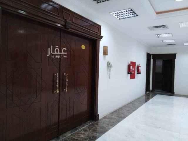1401604 مكتب للايجار طريق حفصه بنت عمر مقابل بلدية الروضه غرفه وصاله ومطبخ وحمام
