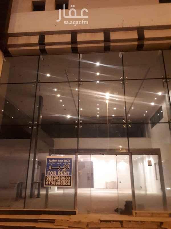 1590261 معرض للايجار  موقع متميز بجوار موبايلي طريق الملك عبد العزيز
