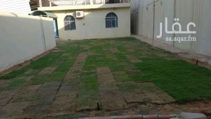 1117960 استراحة للايجار السنوي قسمين مسبح ملعب مشب