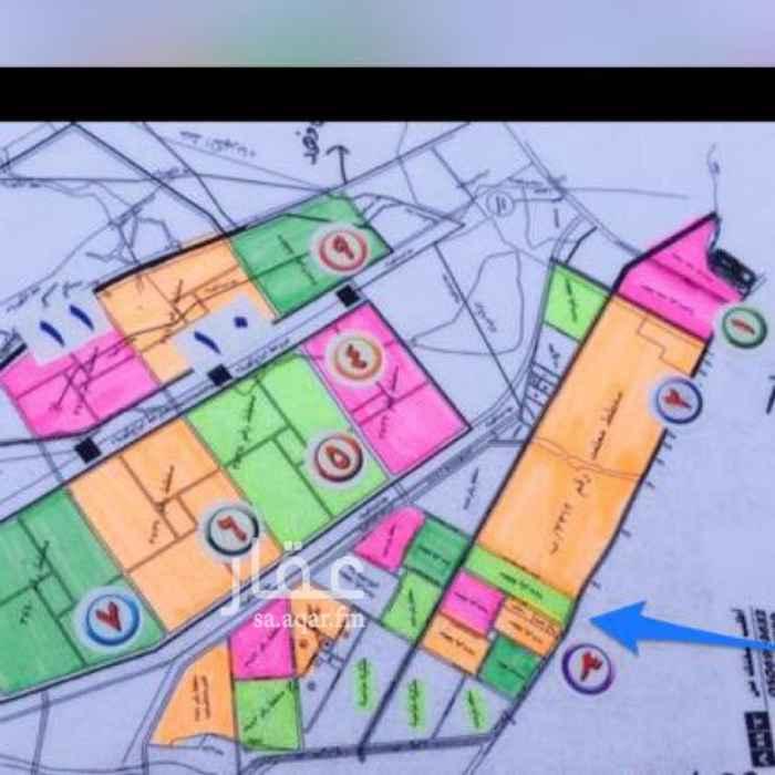 1747232 قطعه سكنيه في مخطط 3537 شارع 15 شرقي مساحه 752م