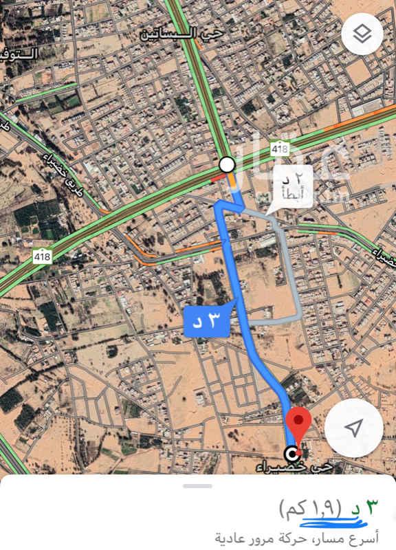 1816361 حوش مسور جنوب خب القبر (خضيراء) على شارع ٣٠م للإيجار، السعر قابل للمفاوضة، يبعد عن الدائري الداخلي (إشارة خب القبر) مسافة ١،٩ كيلو متر، يبعد عن طويق الملك عبدالله مسافة ٣ كيلو متر.