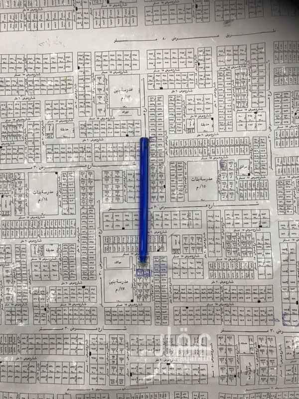 1345254 قطعتين ارض متظاهرتين شرقيه و غربي كل قطعة 500 م ارقامها 1470 أ ، 1469أ
