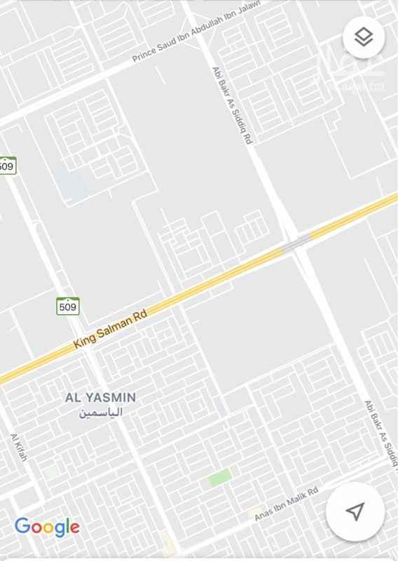 1727035 ارض سكنيه في حي دانة الياسمين  موقع ممتاز كل الخدمات متوفرة  مساحة ٤٠٠م  شارع ١٥ جنوبي  الاطوال ٢٠×٢٠ البيع ٢٢٥٠ شامل الضريبة