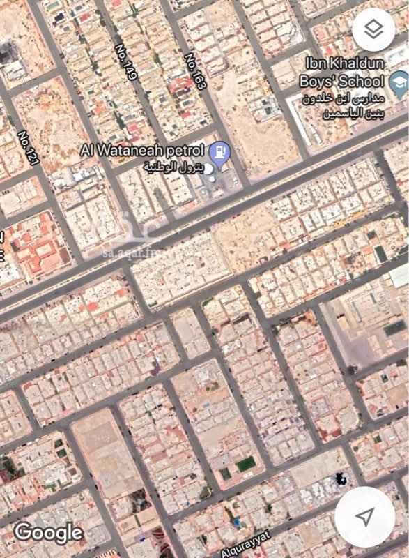 1760230 حى الياسمين مربع 16 المساحة 416م شارع 15 جنوبى الأطوال 16×25 الموقع غير دقيق لايتواصل الا الصامل