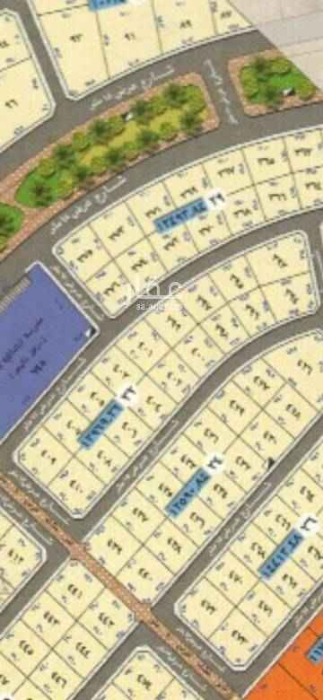 1635162 ارض بحي الرمال مخطط الواحة بلك رقم ٣٢ قطع من ٣٦٣م الي ٣٧٢م شارع ١٥ جنوبي شريط كامل